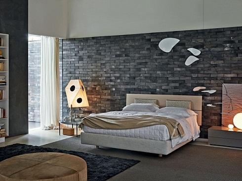 Tư vấn: Có nên ốp gạch tường phòng ngủ hay không?