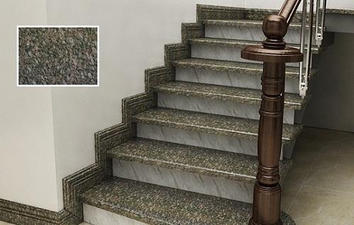 gạch ốp cầu thang đá granite