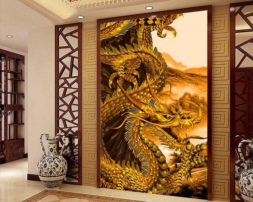 Gạch ốp tường 3d Trung Quốc 4