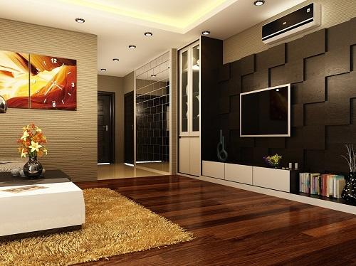 gạch ốp tường 3d phòng khách 4
