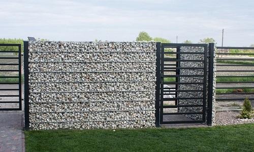 Gạch ốp tường rào 3
