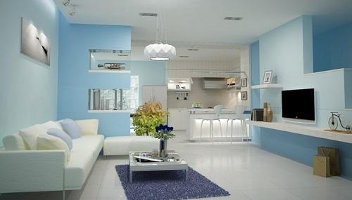 Gạch lát nền màu trắng bí quyết thiết kế cho ngôi nhà bạn thêm tỏa sáng
