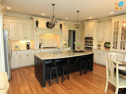 Chọn mẫu gạch lát nền nhà bếp đẹp như thế nào? Tư vấn từ chuyên gia