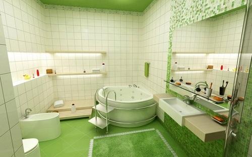 Cách chọn các mẫu gạch lát nền nhà tắm chống trơn giá rẻ, đẹp nhất