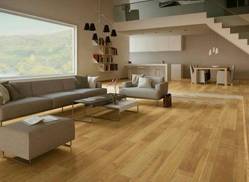 Gạch lát nền vân gỗ Trung Quốc có ưu điểm gì? Cách sử dụng, lắp đặt ra sao?