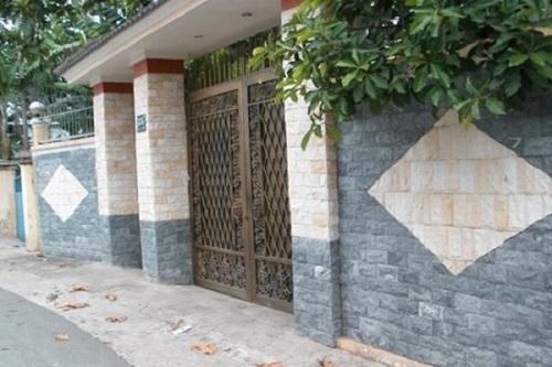 gạch ốp tường ngoại thất đồng tâm 2