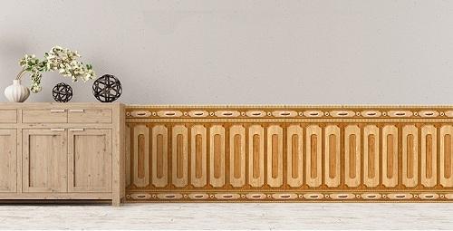Gạch ốp tường chân tường giả gỗ ĐẸP – ĐỘC – ẤN TƯỢNG nhất 2018