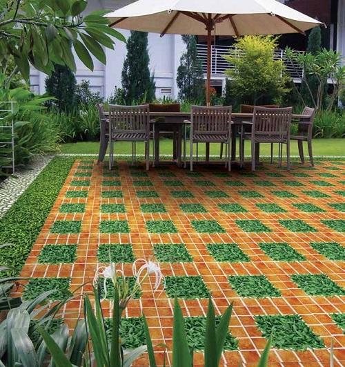 Gạch sân vườn Tasa 2