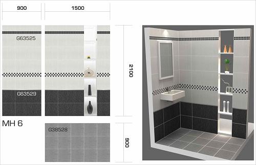 Tiêu chuẩn chọn gạch ốp Taicera cho nhà vệ sinh đem lại Hiệu quả cao