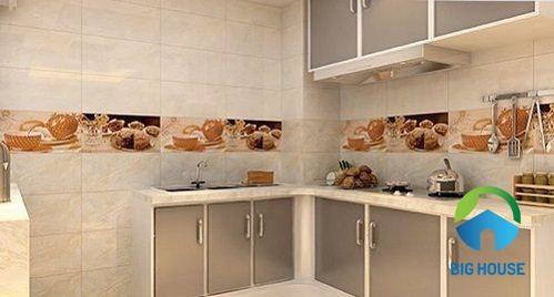 gạch ốp tường bếp Đồng Tâm