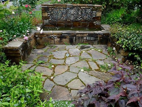 mẫu gạch lát sân vườn biệt thự Viglacera