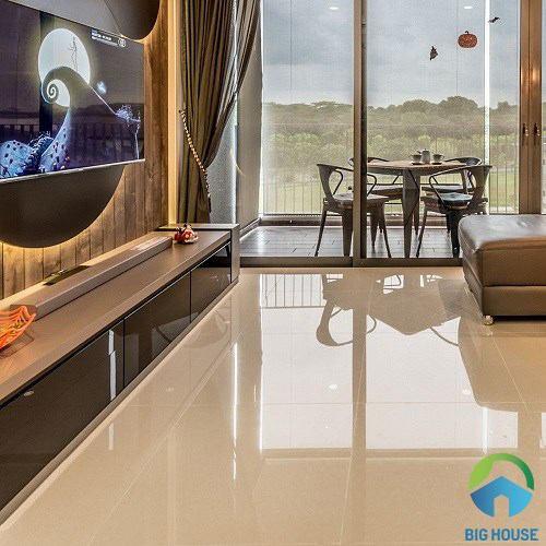 Cách chọn gạch lát nền phòng khách Đồng Tâm ĐẸP và SANG nhất