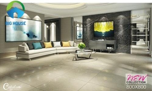 3 lý do nên chọn gạch lát nền phòng khách Catalan Sang Trọng