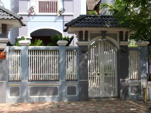 gạch ốp cổng 7