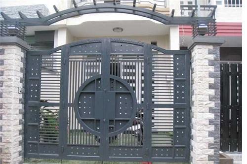 gạch ốp cổng rào  6