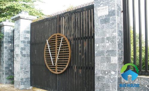 gạch ốp cổng